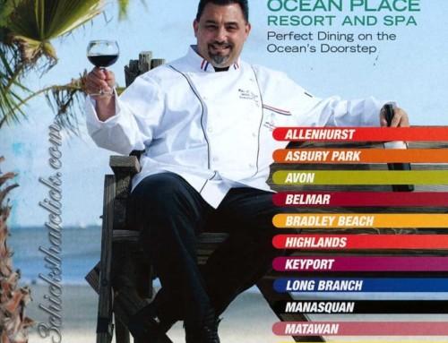 Garden State Menu Magazine Cover – Ocean Place Resort & Spa Restaurant, Long Branch, NJ