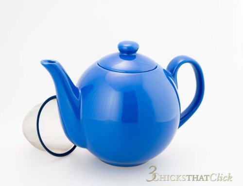 Teascapes: Teapot with Filter