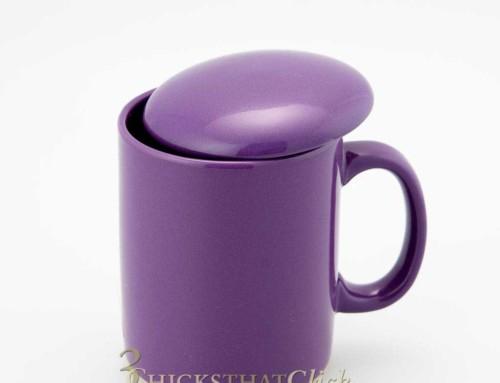 Teascapes: Purple Teacup